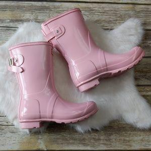 New Hunter boots, original back short gloss